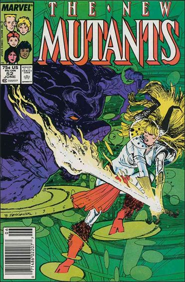 New Mutants (1983) 52-A by Marvel