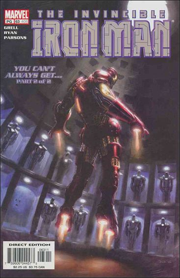 Iron Man (1998) 63-A by Marvel