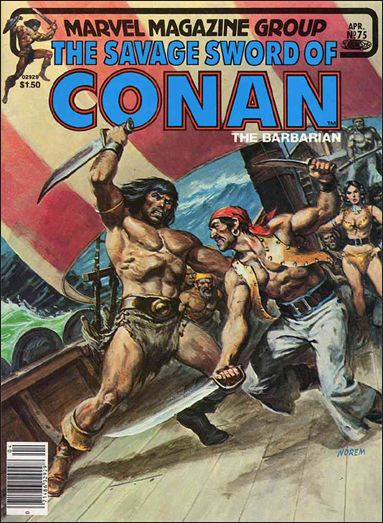 Savage Sword of Conan (1974) 75-A by Marvel