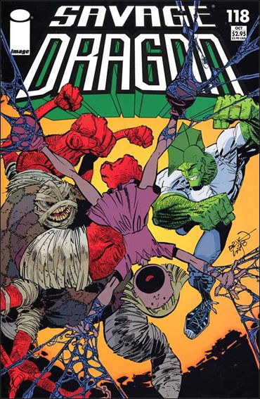 Savage Dragon (1993) 118-A by Image