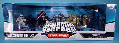 Star Wars: Galactic Heroes Cinema Scenes Vader's Bounty Hunters by Hasbro