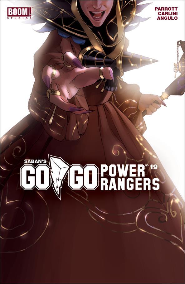 Saban's Go Go Power Rangers 19-B by Boom! Studios