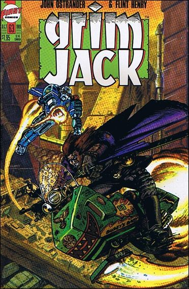 Grimjack 63-A by First