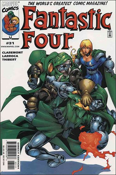 Fantastic Four (1998) 31-A by Marvel