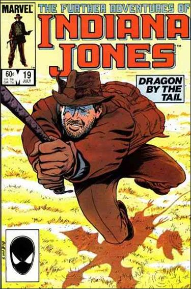 Further Adventures of Indiana Jones 19-A by Marvel
