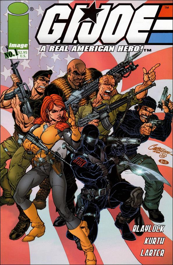 G.I. Joe (2001) 1-A by Devil's Due