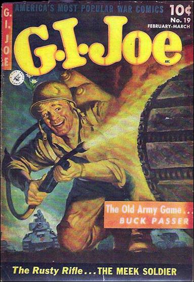 G.I. Joe (1951) 19-A by Ziff-Davis