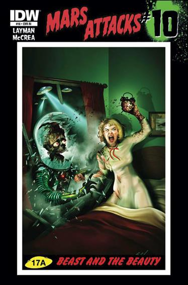 Mars Attacks (2012) 10-C by IDW