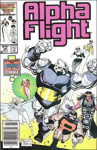 Alpha Flight (1983) 36-B by Marvel