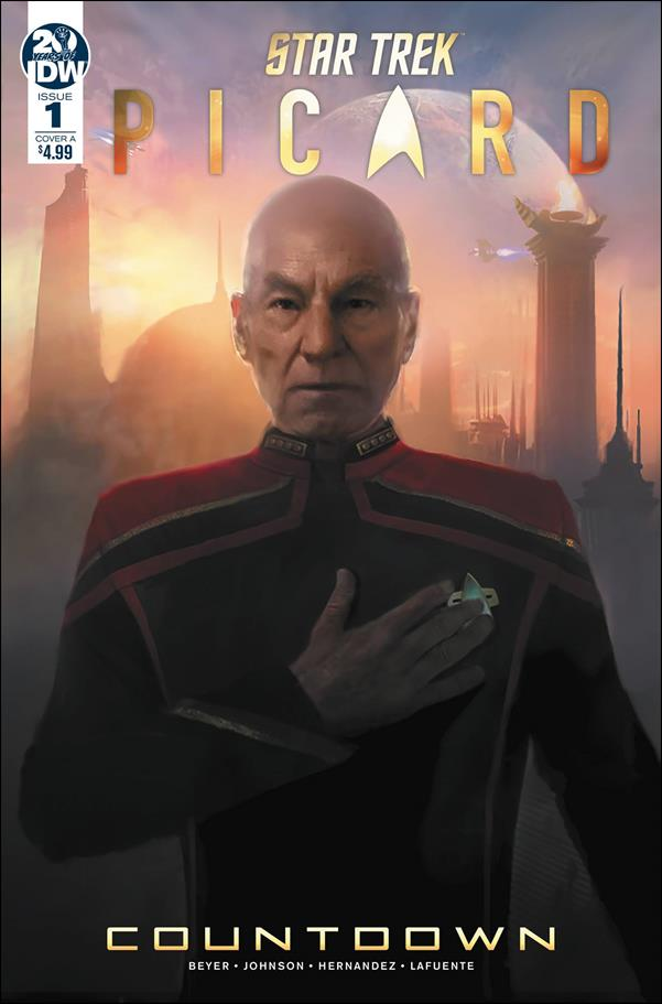 Star Trek: Picard - Countdown 1-A by IDW