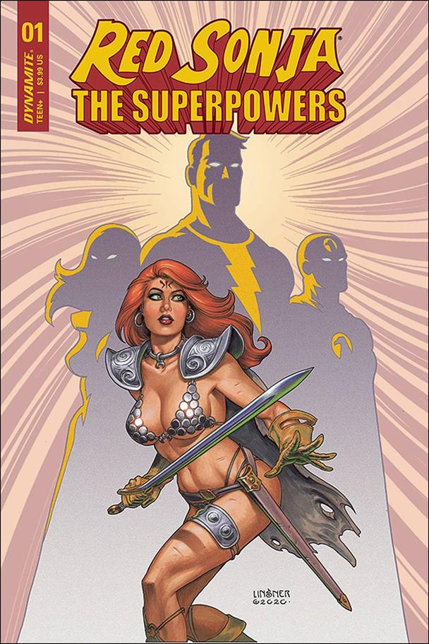 Red Sonja: The Superpowers 1-B by Dynamite Entertainment