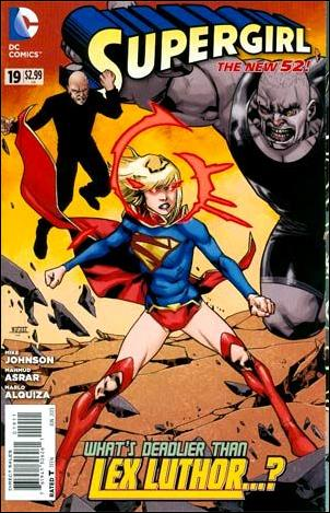 Supergirl (2011) 19-A by DC