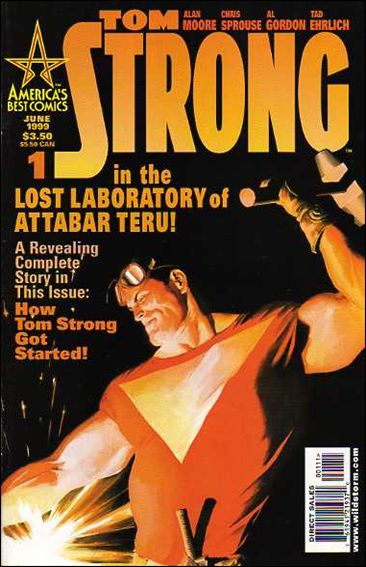 Tom Strong 1-B by America's Best Comics