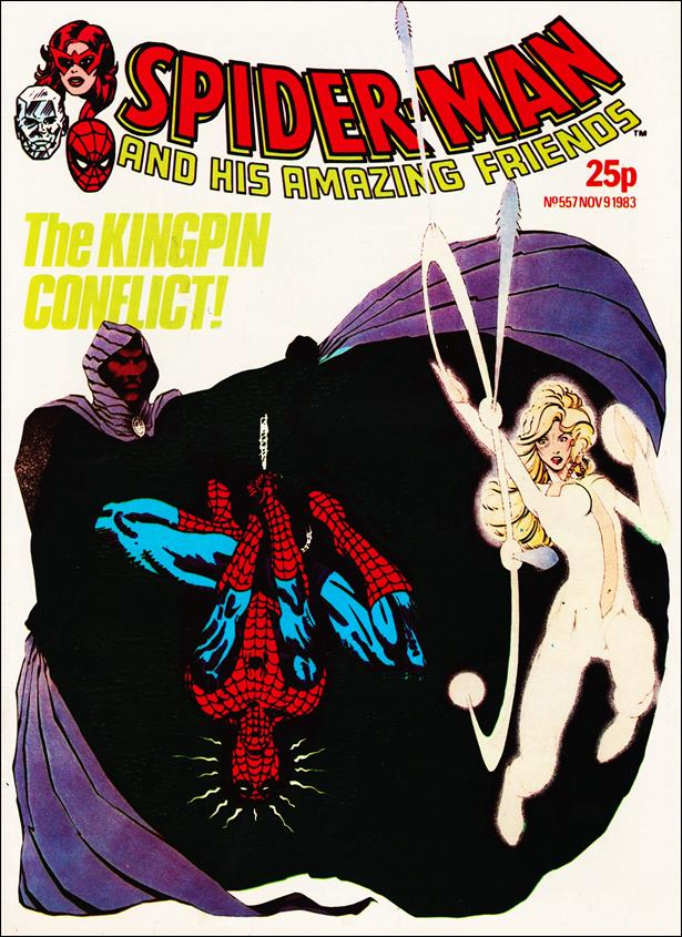 Spider-Man: Comics Weekly (UK) 557-A by Marvel UK
