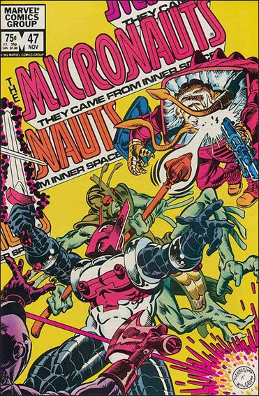 Micronauts (1979) 47-A by Marvel