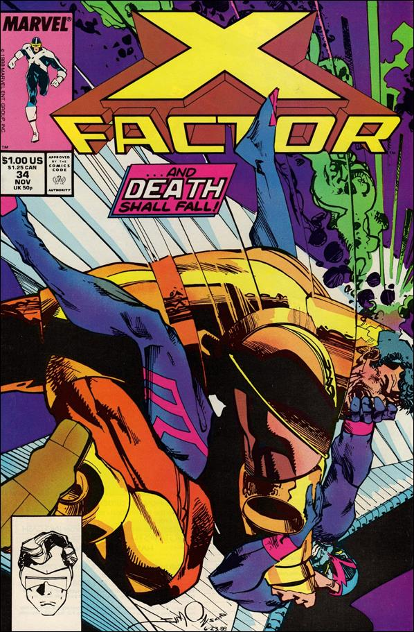 X-Factor (1986) 34-A by Marvel