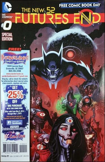 New 52: Futures End  0-B by DC