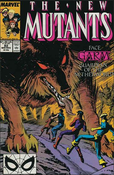 New Mutants (1983) 82-A by Marvel