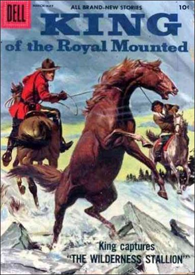 King of the Royal Mounted 24-A by Dell