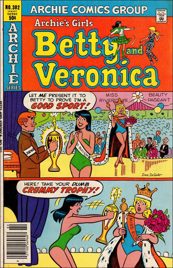Archie's Girls Betty & Veronica 302-A by Archie