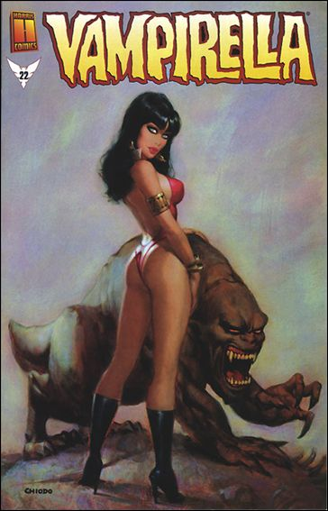 Vampirella (2001) 22-B by Harris
