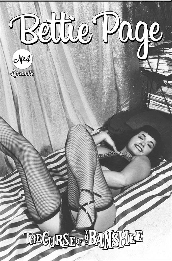 Bettie Page: The Curse of the Banshee 4-E by Dynamite Entertainment