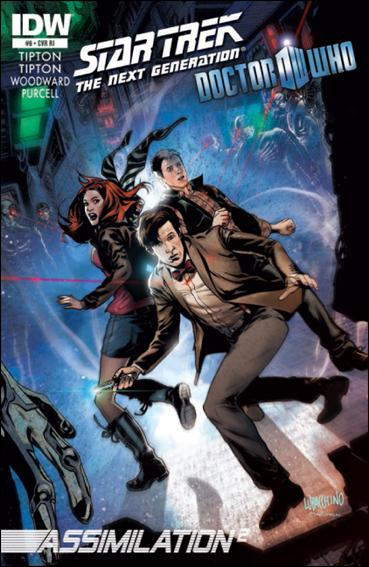 Star Trek: The Next Generation / Doctor Who: Assimilation2 6-B by IDW