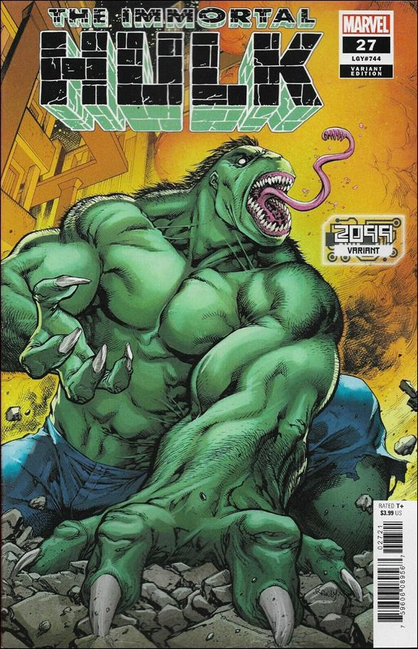 Immortal Hulk 27-B by Marvel