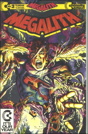 Megalith (1990) 2-A by Continuity Comics
