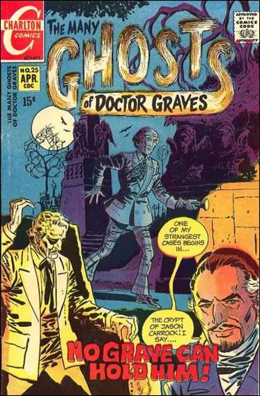 Many Ghosts of Dr. Graves 25-A by Charlton