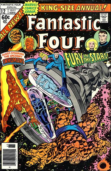 Fantastic Four Annual  12-A by Marvel