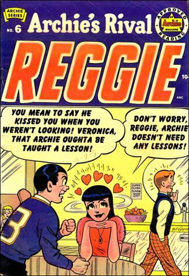 Archie's Rival Reggie 6-A by Archie