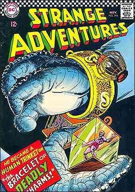 Strange Adventures (1950) 194-A by DC