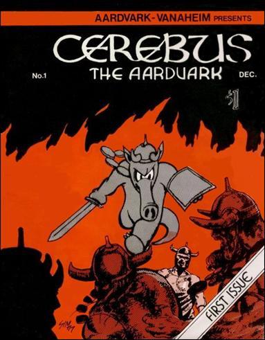 Cerebus 1-A by Aardvark-Vanaheim