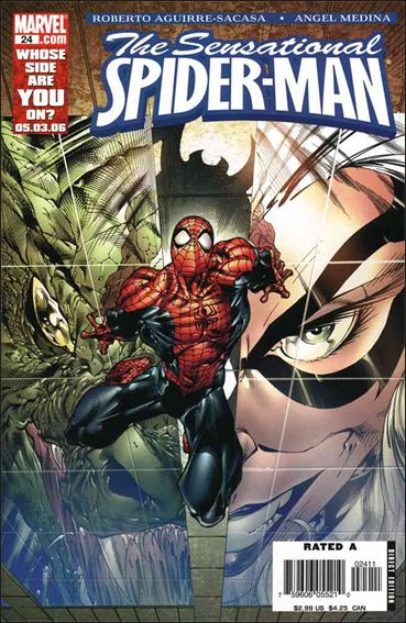 Sensational Spider-Man (2006) 24-A by Marvel