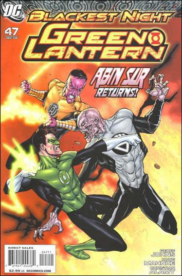 Green Lantern (2005) 47-A by DC