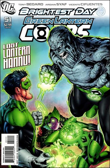 Green Lantern Corps (2006) 51-A by DC