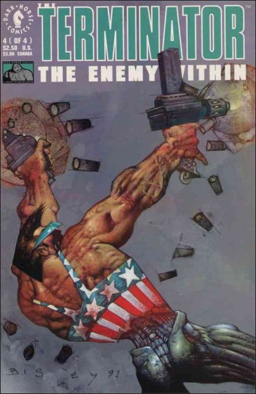 Terminator: The Enemy Within 4-A by Dark Horse