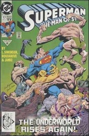 Superman: The Man of Steel 17-B
