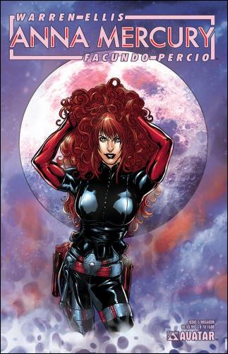 Anna Mercury 5-F by Avatar Press
