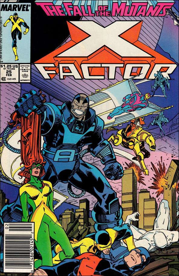 X-Factor (1986) 25-A by Marvel