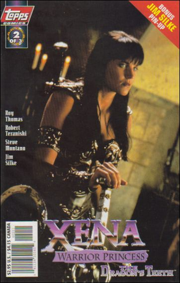 Xena: Warrior Princess: The Dragon's Teeth 2-A by Topps