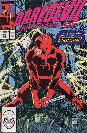 Daredevil (1964) 272-A by Marvel