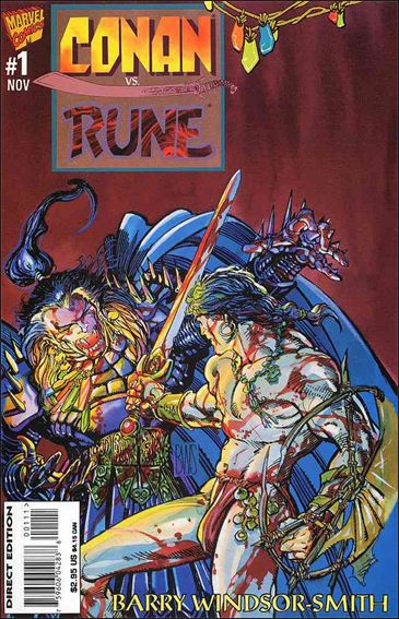 Conan vs Rune 1-A by Marvel