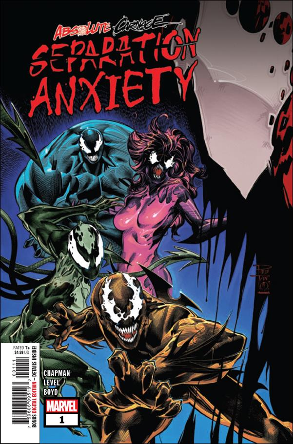 Absolute Carnage: Separation Anxiety 1-A by Marvel