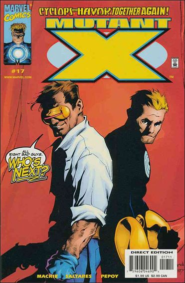 Mutant X 17-A by Marvel