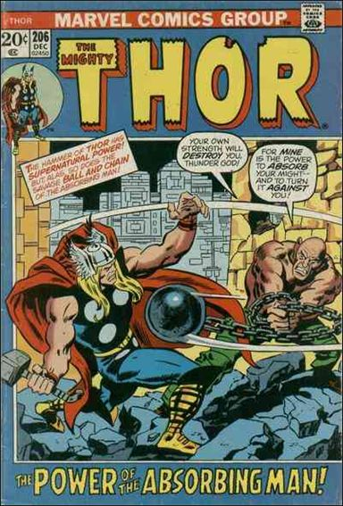 Thor (1966) 206-A by Marvel