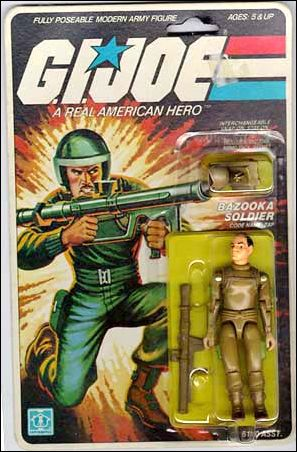 "G.I. Joe: A Real American Hero 3 3/4"" Basic Action Figures Zap (Bazooka Soldier) by Hasbro"