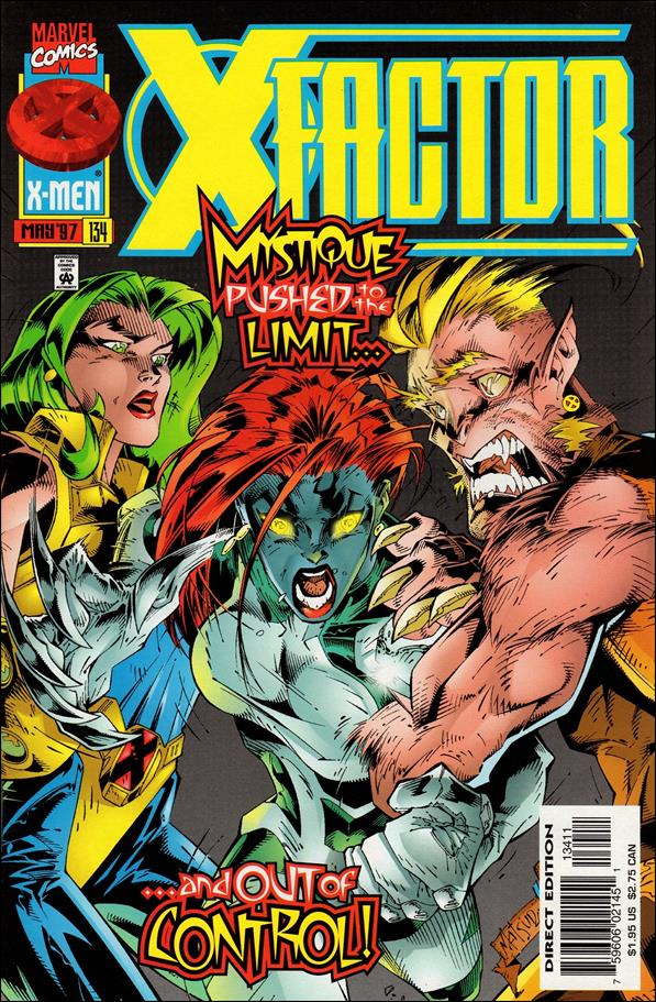 X-Factor (1986) 134-A by Marvel