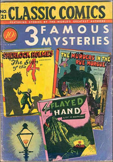 Classic Comics/Classics Illustrated 21-A by Gilberton